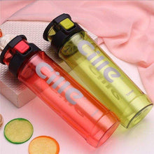 Load image into Gallery viewer, CILLE - NEW STYLE - Athletic Sports Water Bottle PBA-free Plastic - 730ML Pop-top Leak Proof Lid
