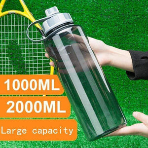 SUPER HUGE LARGE CAPACITY BPA Free Outdoor Water Big Sports Bottle Fitness Leak-proof XL XXL Extra