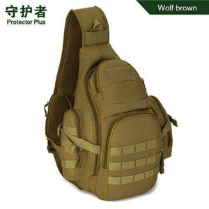 Military Shoulder Slung Messenger Style Tactical Bag Waterproof Multi-functional