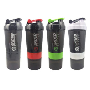 Sports Shaker Water Bottle Protein Powder Mixing Bottle Nutrition Fitness