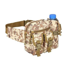 Load image into Gallery viewer, Outdoor Hip Pack for Water Bottle - Military Tactical Bag Waterproof Camping Hiking Pouch