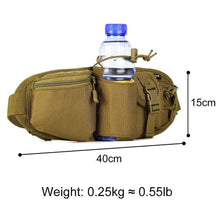 Load image into Gallery viewer, Protector Plus Tactical Waist Case Pack Bag Water Bottle Pouch Camping Hiking Hunting