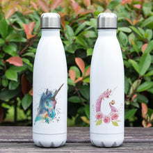 Load image into Gallery viewer, REALLY COOL UNICORN 17 oz Double Wall Vacuum Stainless Steel Soda-pop Style Water Bottle Insulated Leak-proof Twist-top Thermos