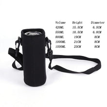 Load image into Gallery viewer, 420-1500 ML Sports Water Bottle Case Insulated Bag Neoprene Pouch Holder Sleeve Cover Carrier