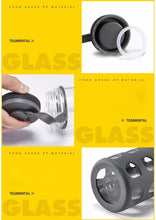 Load image into Gallery viewer, 600ml / 20.3 fl oz - Water Bottle High Quality Kettle Glass - Silicone Rubber Outer-wall