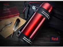Load image into Gallery viewer, The Aqua Grail Thermo - Stainless Steel Double Walled Vacuum Thermos w Handle