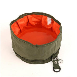 Featured:  Collapsible Pet Water / Food Bowl - Soft Travel Bowl for Dogs and Cats