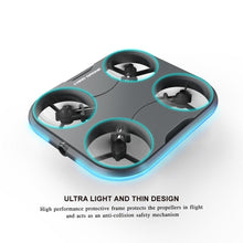 "Load image into Gallery viewer, SELFIE DRONE - ""Dronie"" - Optical Flow Follows Face Recognition Remote Control Drone Card Thinnest Selfie-Drone Camera RC Quadcopter"