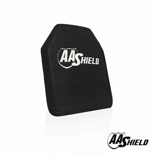 "AA Shield Bullet Proof Ultra-Light Weight Hard Plate Body Armor Insert - NIJ Level IV 4 ( 10x12"" )"