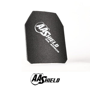 AA Shield Bullet Proof Ultra-Light Hard Plate Body Armor - NIJ IIIA (10x12