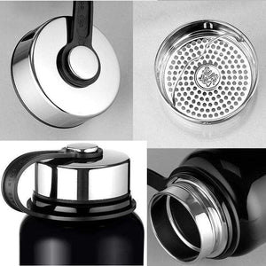 600ml / 1000ml / 1500ml JK Double Wall Stainless Steel Thermal Water Bottle Vacuum Flask