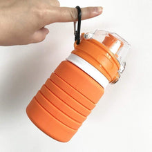 Load image into Gallery viewer, XeuLi - Folding Collapsible Silicone 16 fl oz / 500ML Water Bottle BPA-Free