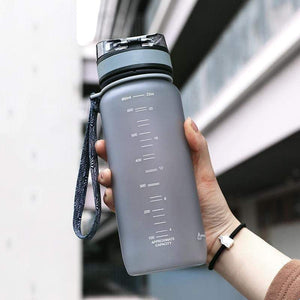 Uzspace 650ml Pop-top Sport Water Bottle Leak-proof BPA-Free Plastic