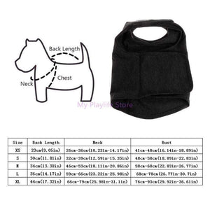 Anti-Anxiety Puppy Vest Jacket Pet Coat Thunder Shirt Stress Relief Calming Wrap Soft Comfort