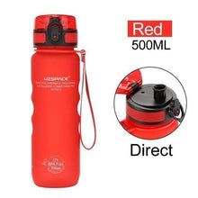 Load image into Gallery viewer, UZSPACE Water Bottle 500ml Pop-top Direct Drink Leak-proof Tritan BPA Free Plastic