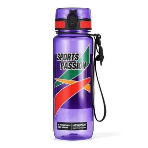 New UZSPACE Plastic Sport Water Bottles Large Capacity male Portable Creative Trend Kettle Outdoor fitness Space Bottle BPA Free