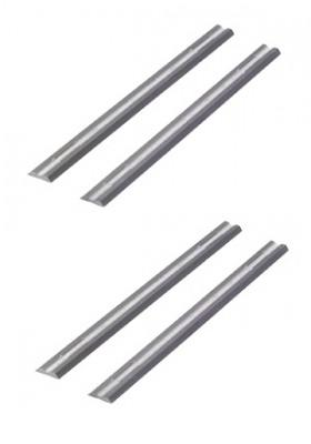 56mm x 5.5mm x 1.1mm solid carbide planer blades for Adler planer - 4 pieces (2 pairs)