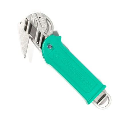 GR8 Pro, heavy duty safety knife GREEN