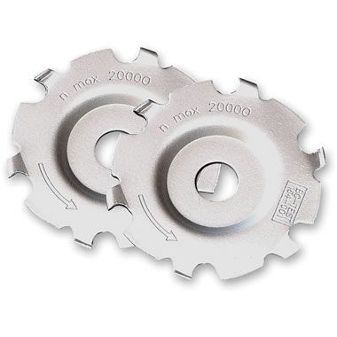 "Arbortech Mini-Carver / Mini-Grinder 50mm (2"") Replacement Blades - 2 Pack"