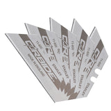 5 x Stanley 0-11-800 FatMax Carbide Trimming Knife Blades (pack of 5 blades)