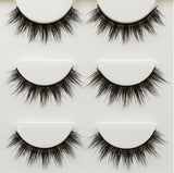 3 Pairs 3D Thick Natural Fake Eye Lashes 11 styles