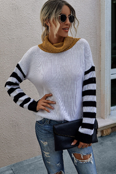 Popped Top Sweater