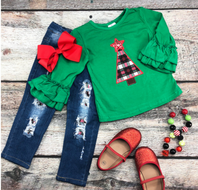 Tree Topper Pant Set