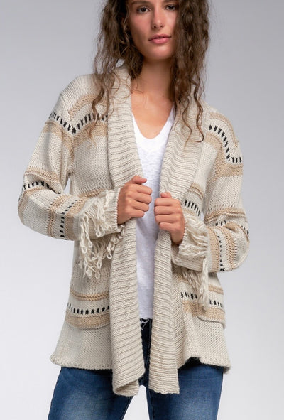 Living on the Fringe Cardigan