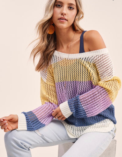 Margot Colorblock Sweater