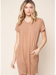 Weekender T-Shirt Mini Knit Dress