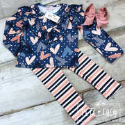 Wild Hearts Pants Set