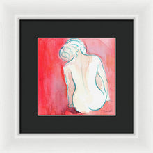 Load image into Gallery viewer, Female Watercolor Figure I Framed Print by Lanie Loreth