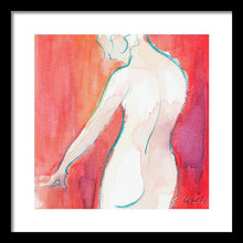 Load image into Gallery viewer, Female Watercolor Figure II Framed Print by Lanie Loreth