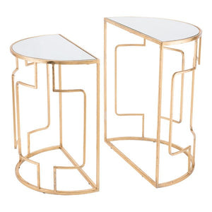 Zuo Roma Set Of 2 End Tables