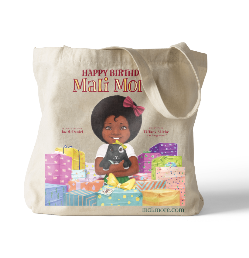 Happy Birthday Mali More - Limited Edition Canvas Tote Bag