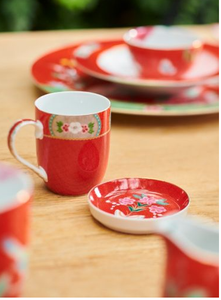 Set 2 mug Blushing Red