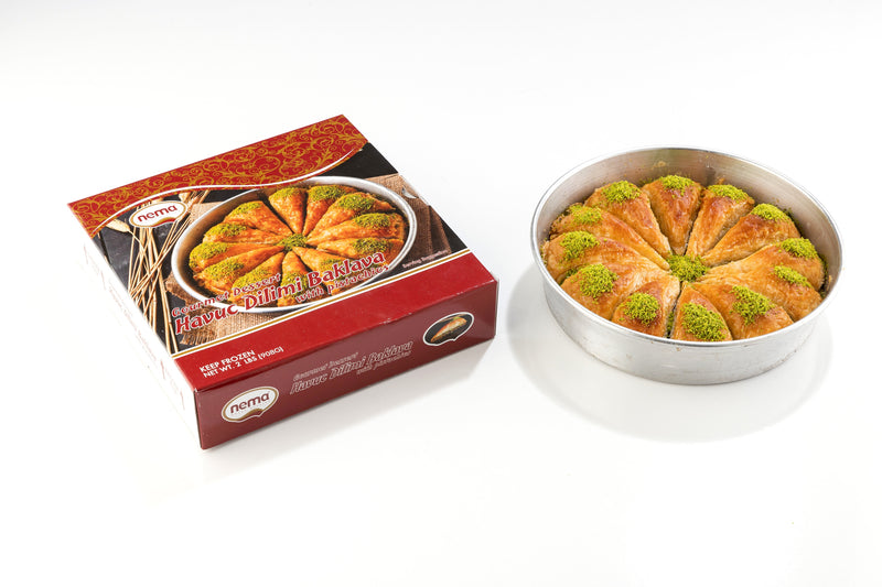 Nema Triangle Baklava with Pistachios (2 lb)