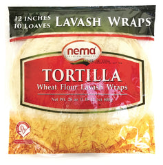 Tortilla Lavash Wraps 12