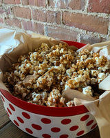 "Homemade English Toffee Popcorn ""Tray"""