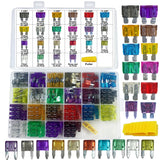 Mupera 242 PCS Blade Car Fuses Assortment Kit - Car Truck Standard & Mini (2A/3A/5A/7.5A/10A/15A/20A/25A/30A/35A/40A), Boat Car RV SUV Truck Camper Automotive Replacement Fuses