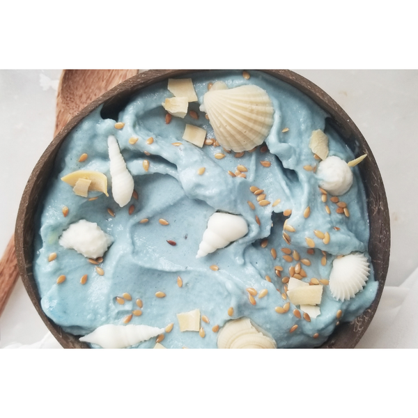 RECEPT: Butterfly Pea Nicecream