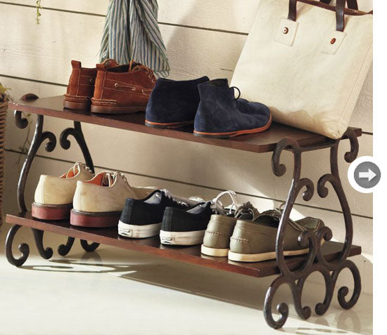 Male shoe rack