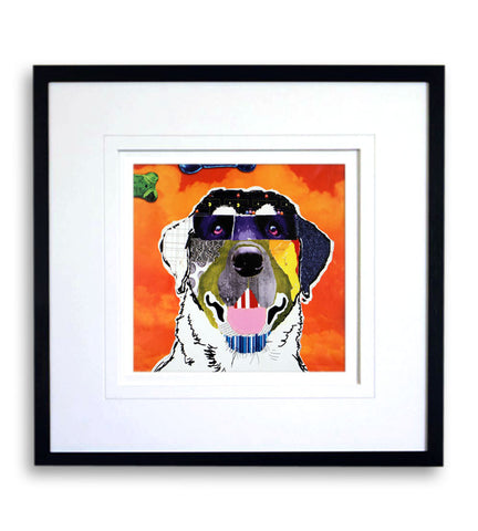 Golden Retriever Pop Art Print