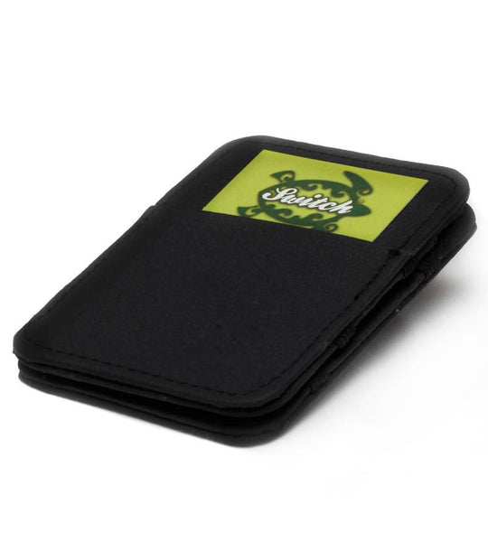 Black Cow Hide Magic Wallet