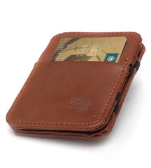 Brown Cow Hide Magic Wallet