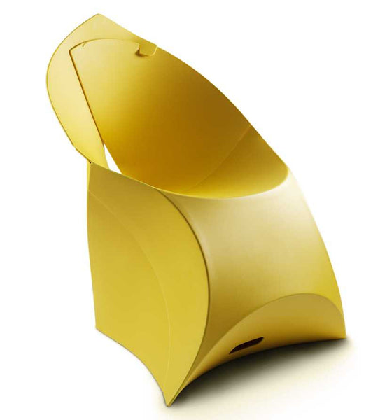 Flux chair lemon lime