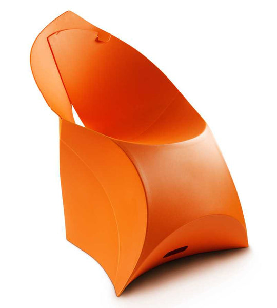 Flux chair bright orange