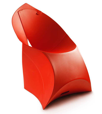 Flux chair classic red