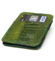 Ostrich Skin Magic Wallet