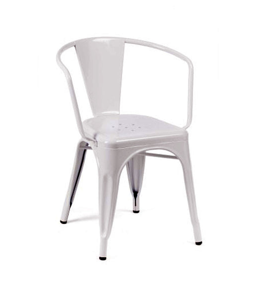 Marais arm chair - white